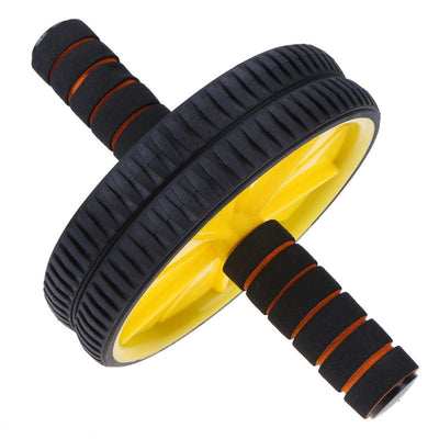 Double-Wheeled Abdominal Training Roller