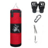 MMA Boxing Punching Empty Sport Kick Sandbag Plus Training Set Wraps & Palm Sleeves & Hook