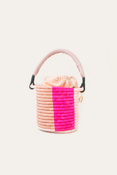 Lucine Bucket Bag - Salmon