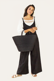 Raffia Bag - Black