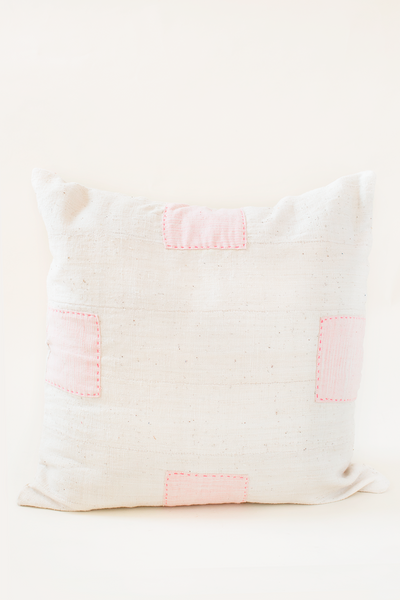 Ikat Blocks Pillow Cover