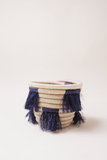 Mini Eyelash Basket - Navy