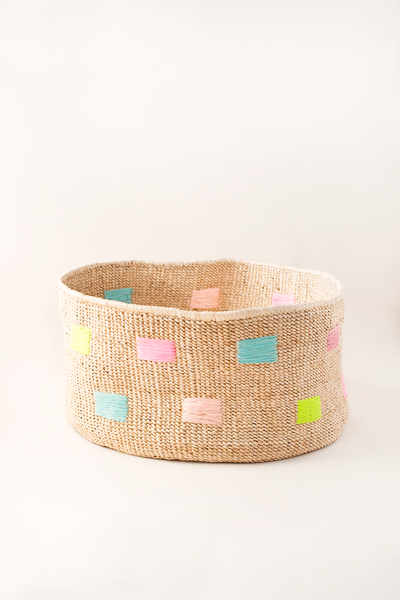 Banana Leaf Basket - Brights