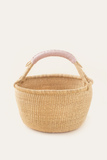 Dusty Rose Bolga Basket