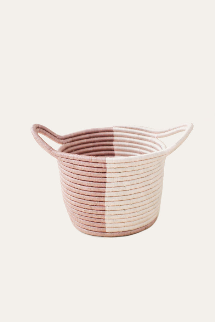 Mauve Split Basket