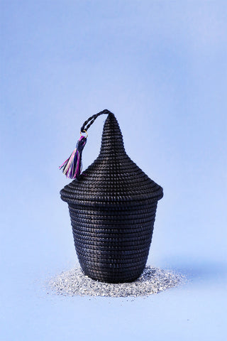 Mini Peace Basket - Black