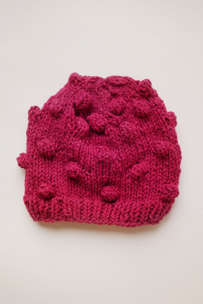 Toddler Popcorn Hat - Pink