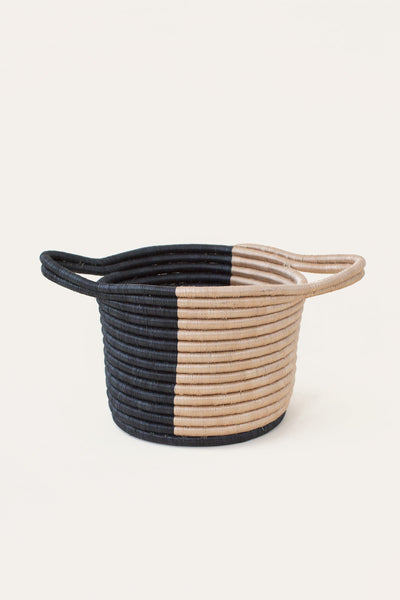 Split Basket Natural & Black