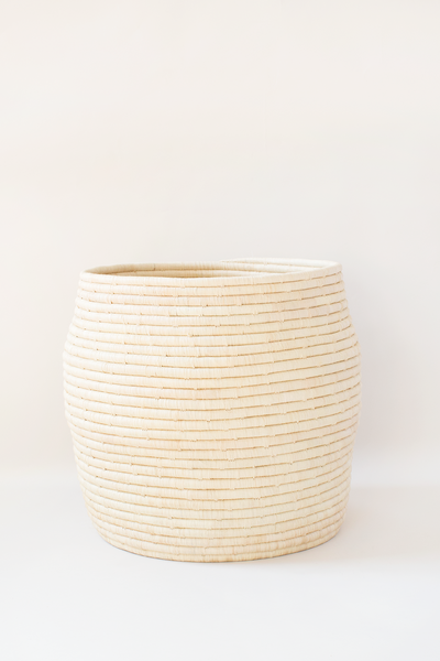 Medium Raffia Floor Basket