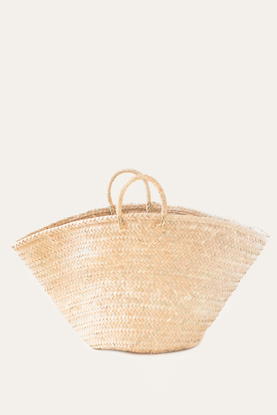 Oversized Palm Basket