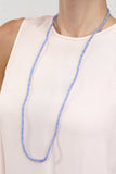 Seed Bead Necklace - Blue