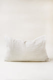 Cream Mudcloth Pillow Cover