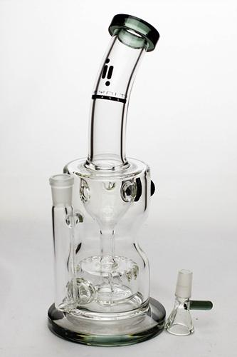 "11"" infyniti barrel diffuser water recycled bong"