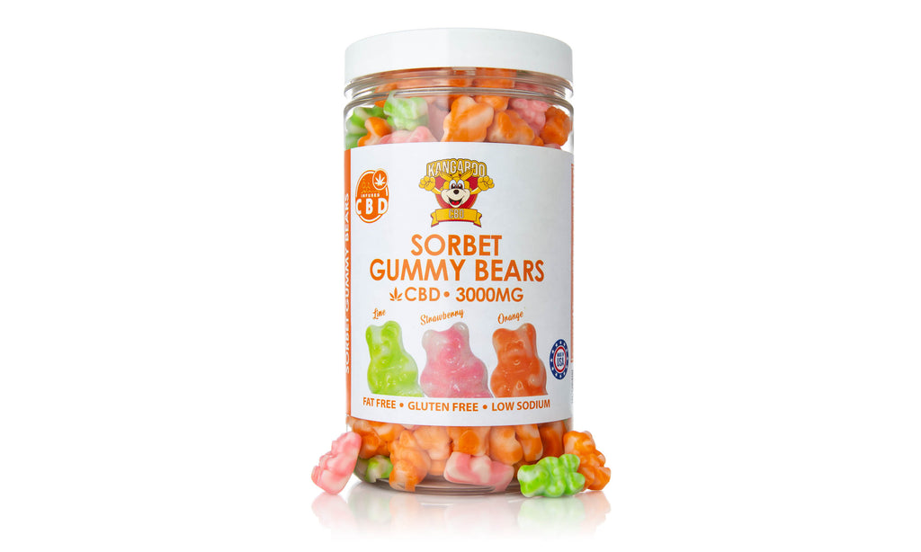 Sorbet Bears CBD Gummies