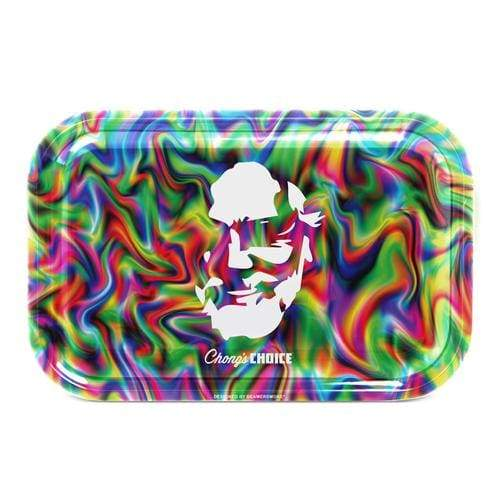 Tommy Chong Medium Metal Tray- Chong's Choice Face