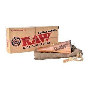 Raw King Size Wooden Double Barrel King Size Holder