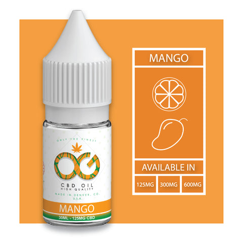 OG Labs - Mango CBD Eliquid (30ml)