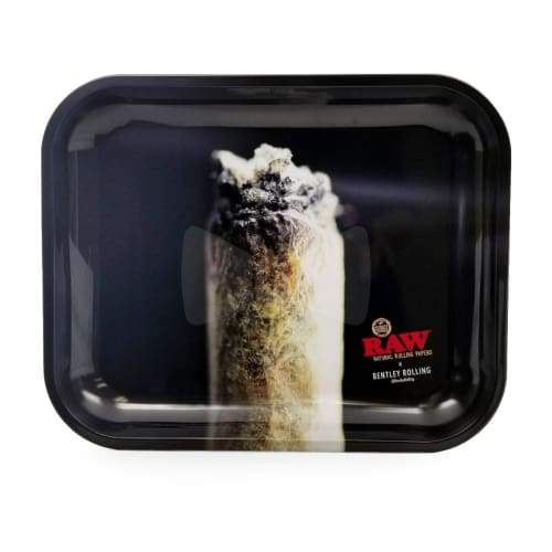 Raw Rolling Tray Bentley Rolling Collab Metal Large