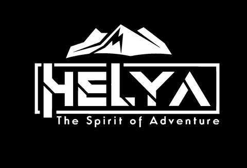 "HELYA Sticker 4"" x 9"" - White"