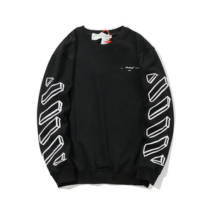 O-WHITE LONG SLEEVE 3D EDITION (BLACK)