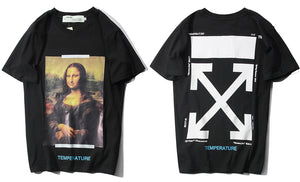 O-WHITE MONA LISA (BLACK)
