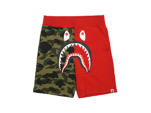 A.B.A RED & GREEN CAMO SHORTS