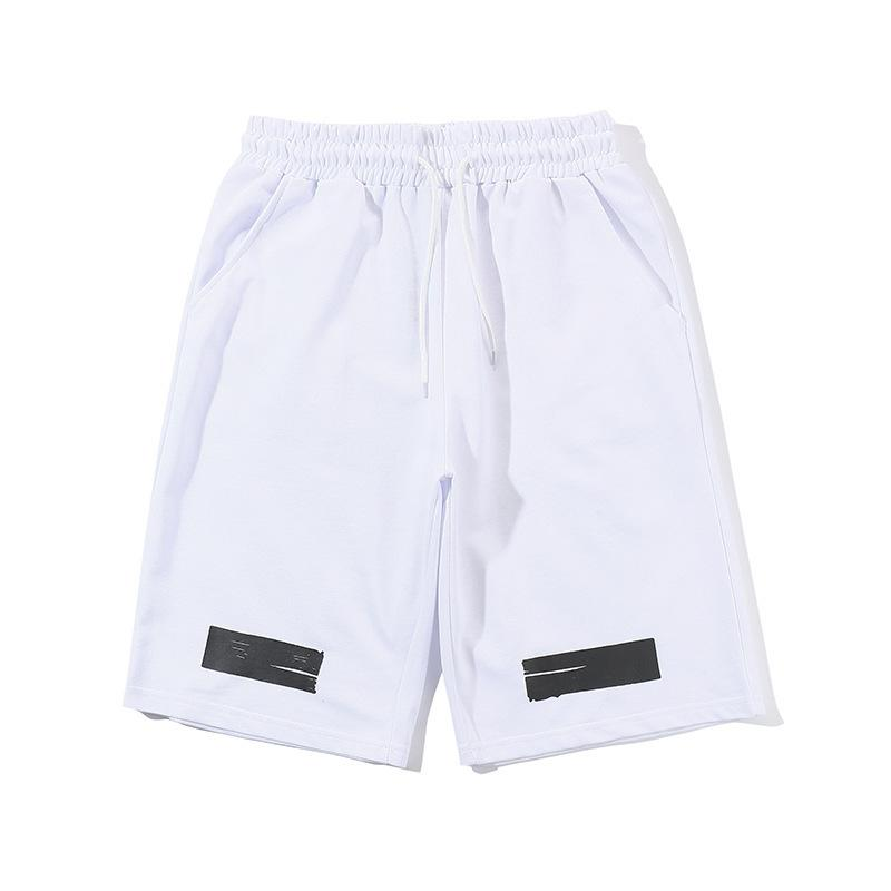 O-WHITE LOGO SHORTS (WHITE)