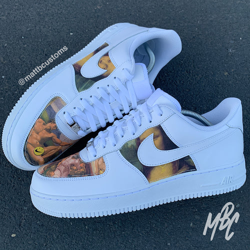 NIKE AF1 - CLASSIC ART - MattB Customs
