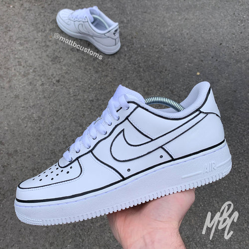 NIKE AF1 - ILLUSTRATION - MattB Customs