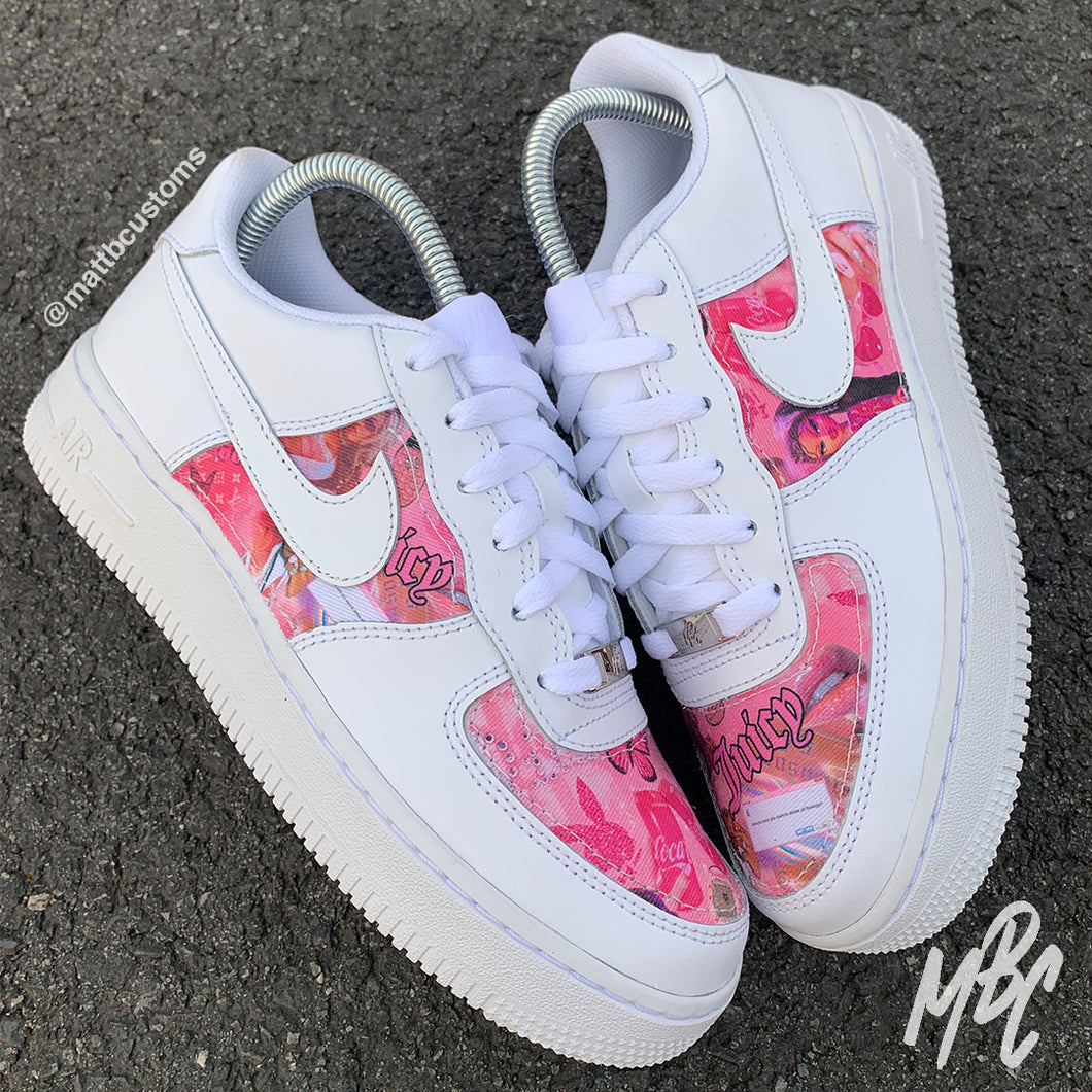 NIKE AF1 - Y2K SCRAPBOOK - MattB Customs