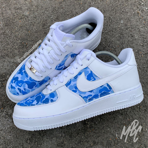 NIKE AF1 - BAPE CUT & SEW - MattB Customs