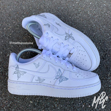Load image into Gallery viewer, NIKE AF1 - REFLECTIVE BUTTERFLIES - MattB Customs