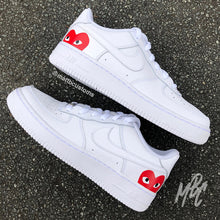 Load image into Gallery viewer, NIKE AF1 - CDG HEART - MattB Customs