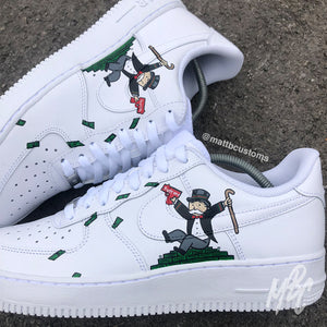 NIKE AF1 - HYPEBEAST MR. MONOPOLY V2 - MattB Customs