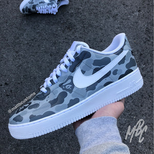 NIKE AF1 - MONOCHROME BAPE CAMO - MattB Customs