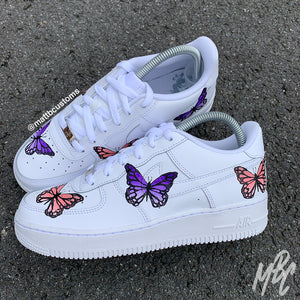 NIKE AF1 - BUTTERFLIES - MattB Customs