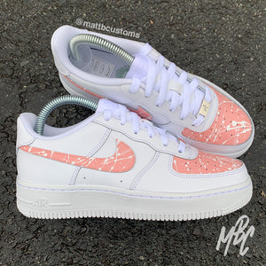 NIKE AF1 - PAINT SPLAT PANELS - MattB Customs