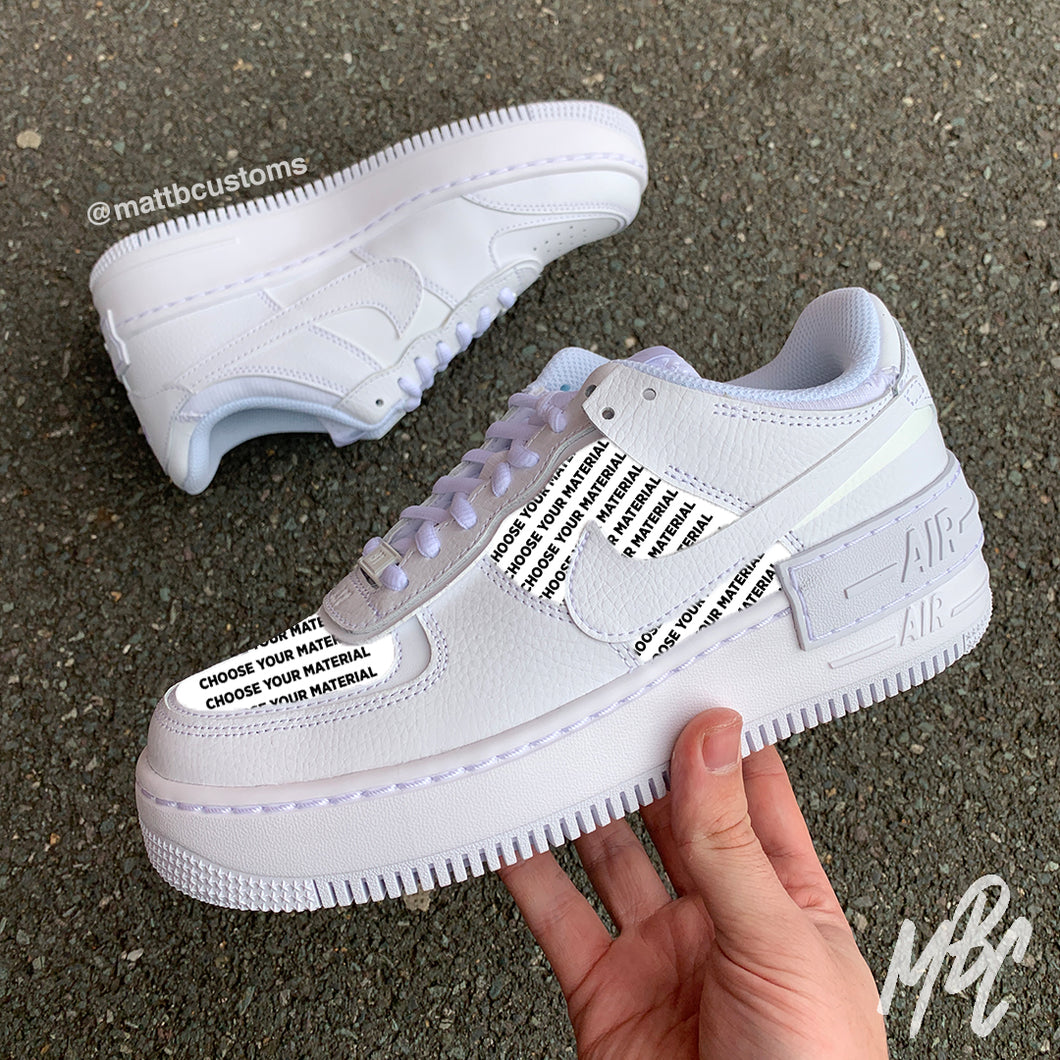 NIKE AF1 SHADOW - CUT & SEW - MattB Customs