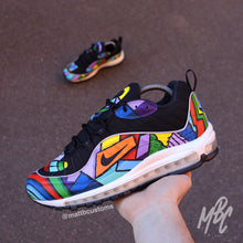 Load image into Gallery viewer, NIKE AIR MAX 98 - CARTOON FREESTYLE - MattB Customs