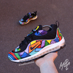 new products 82781 a993f NIKE AIR MAX 98 - CARTOON FREESTYLE