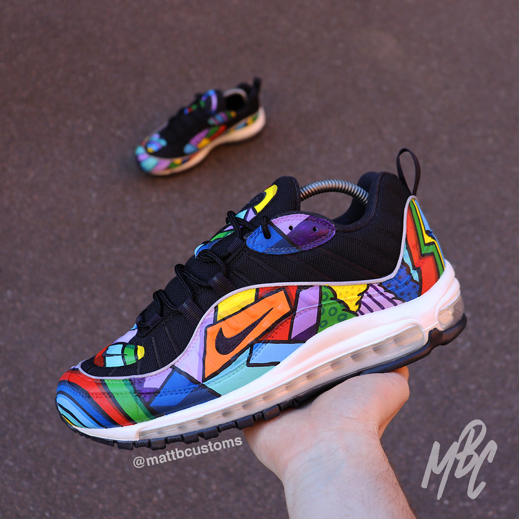 NIKE AIR MAX 98 - CARTOON FREESTYLE