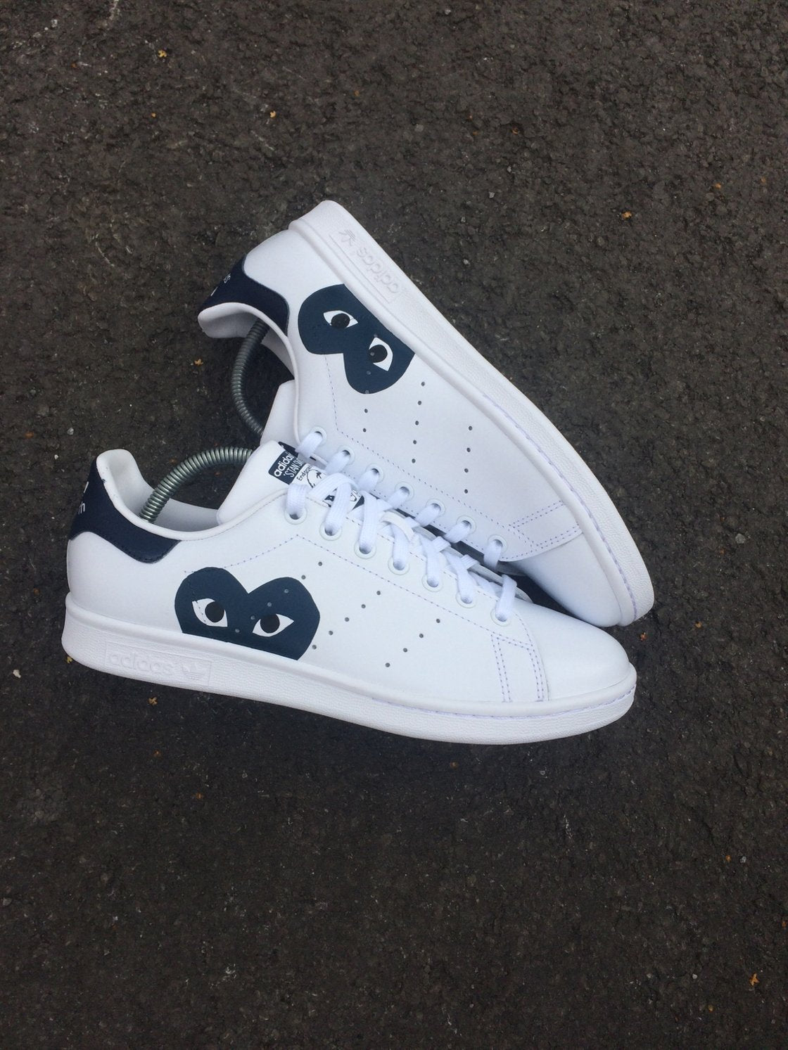check out 293ca f0702 ADIDAS STAN SMITH WHITE - CDG