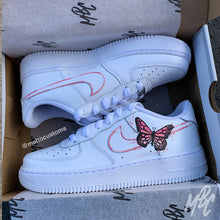 Load image into Gallery viewer, NIKE AF1 - ABSTRACT BUTTERFLY - MattB Customs