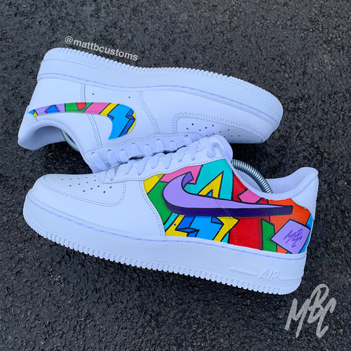 NIKE AF1 - CARTOON FREESTYLE - MattB Customs
