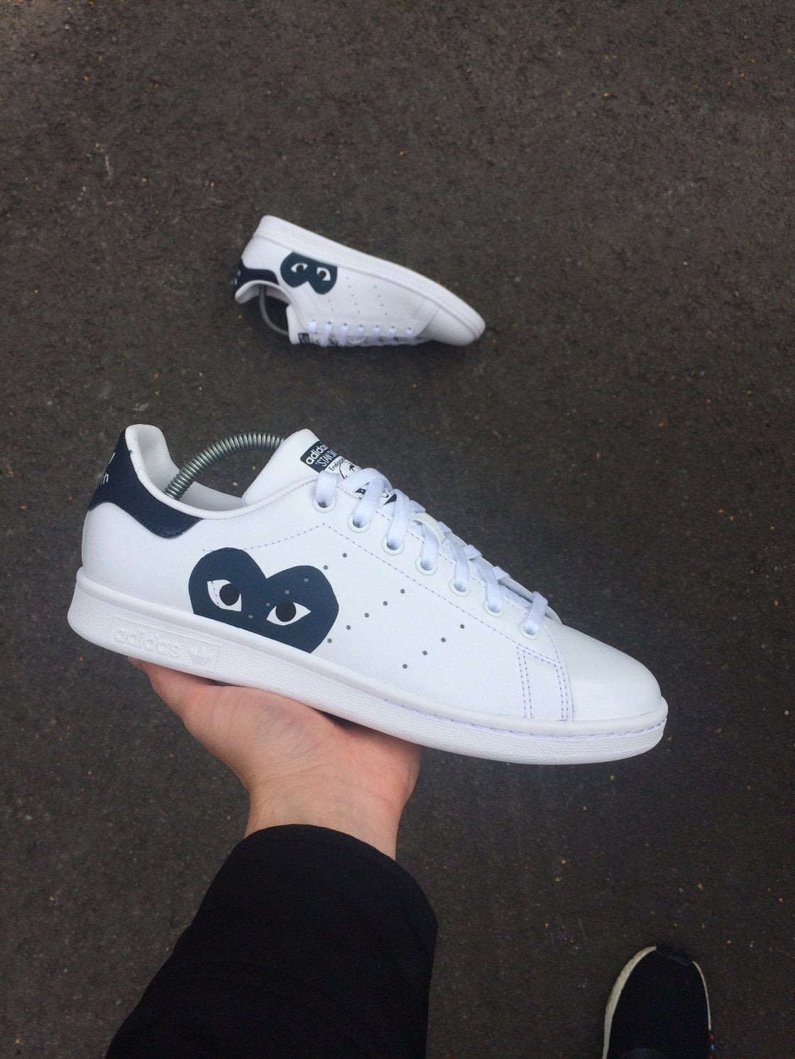 ADIDAS STAN SMITH WHITE - CDG