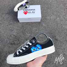 Load image into Gallery viewer, CONVERSE x CDG BLACK - BAPE CAMO