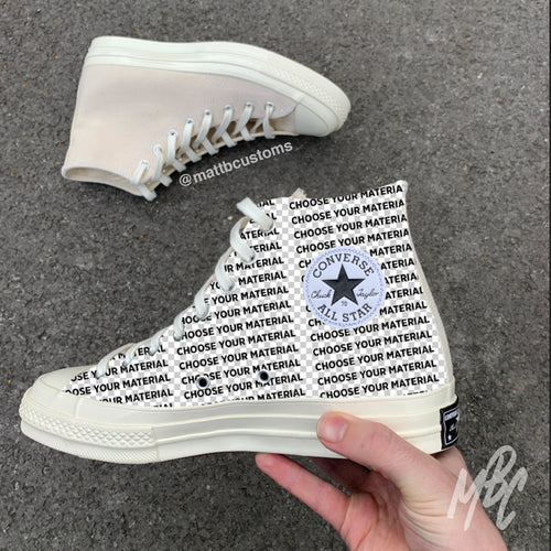 CONVERSE ALL STAR HI - CUT & SEW - MattB Customs