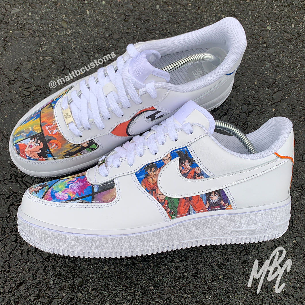 NIKE AF1 - DBZ (CUT & SEW) - MattB Customs