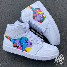 Load image into Gallery viewer, NIKE JORDAN 1 MID - CARTOON FREESTYLE