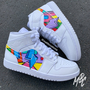 NIKE JORDAN 1 MID - CARTOON FREESTYLE